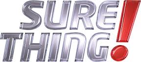 Sure Thing! Car Insurance Logo