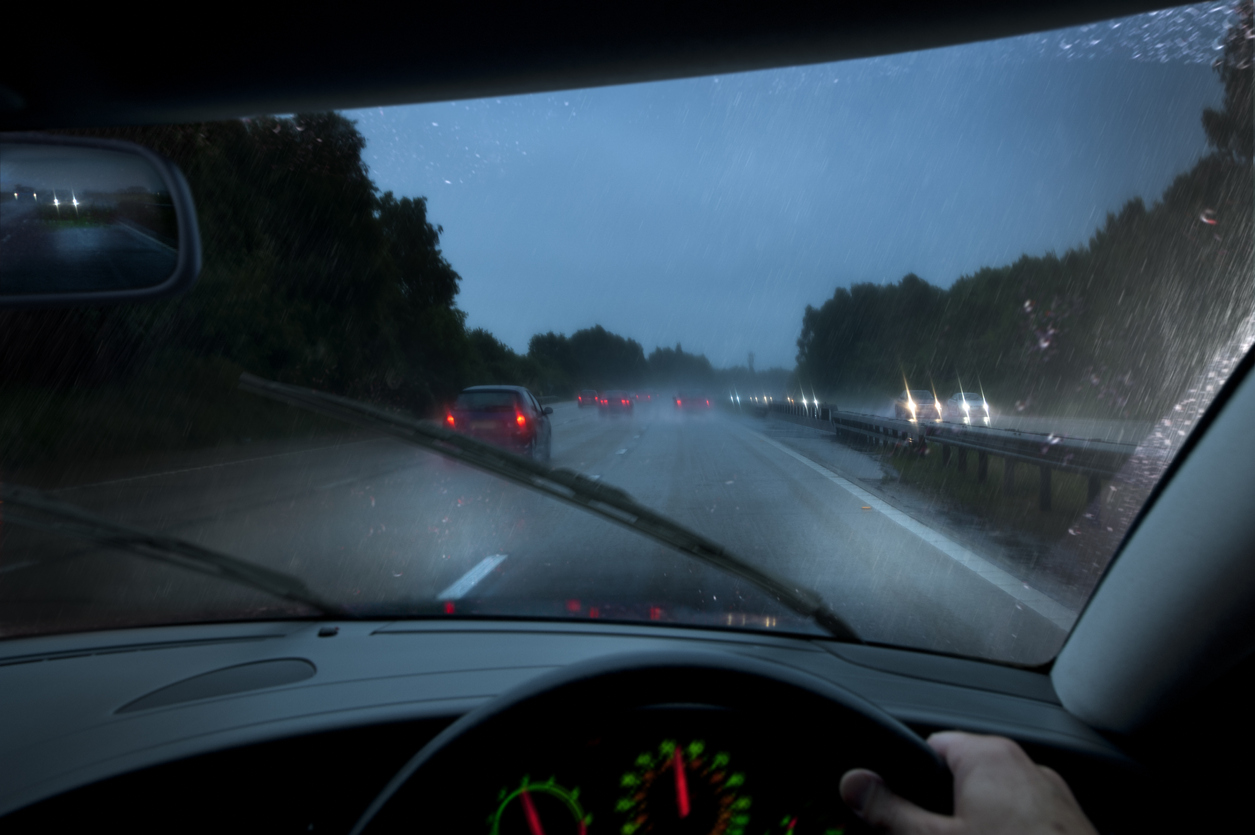 How to Drive Safely in a Storm