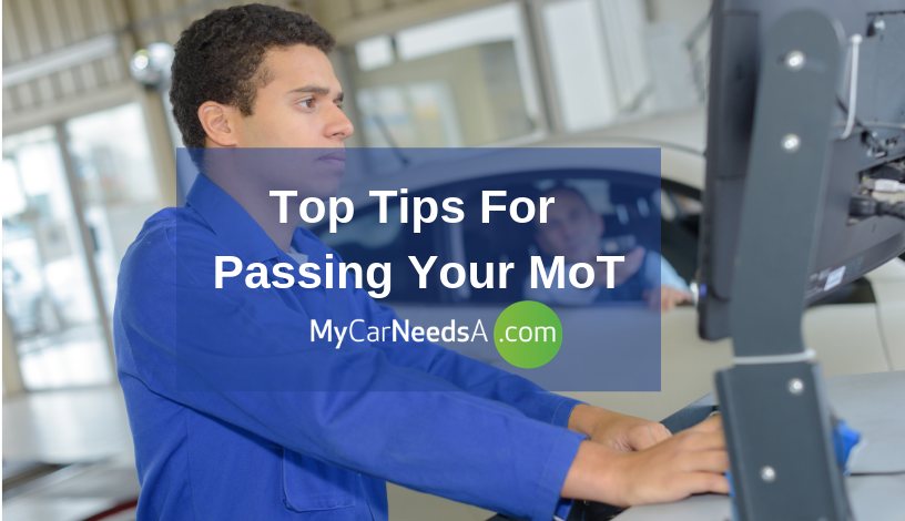 Avoid Failing The MoT Test With These Tips