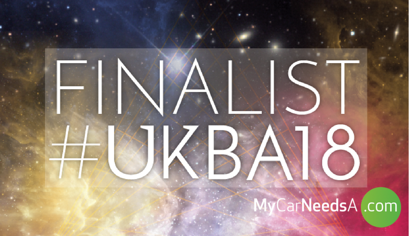 We are Finalists for the UK Blog Awards 2018