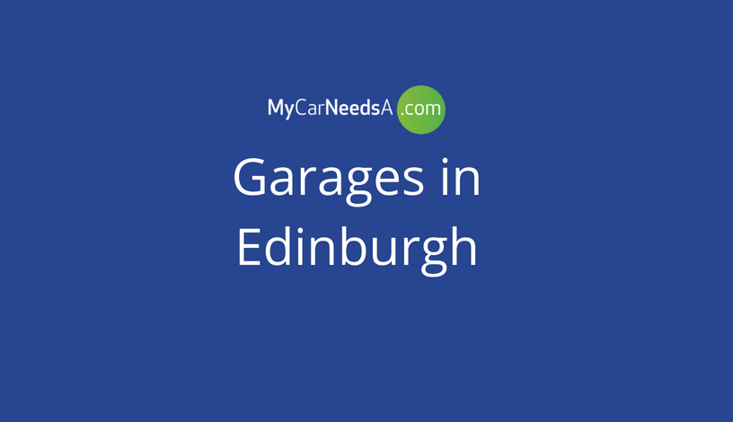 Looking For A Garage in Edinburgh
