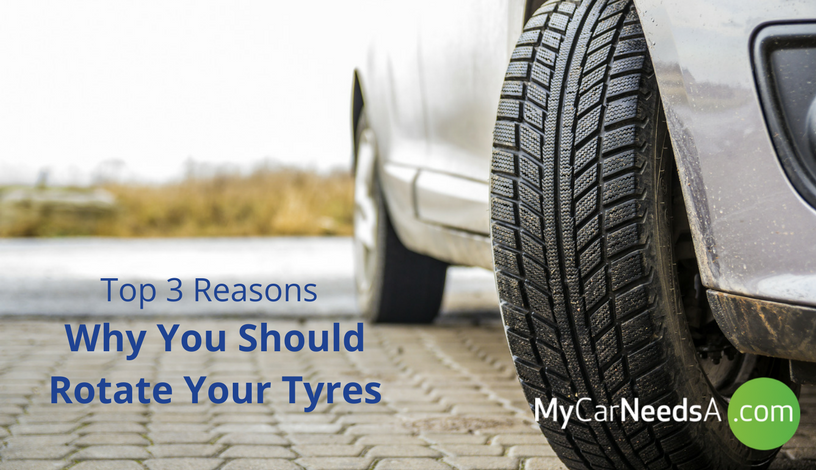 Top 3 reasons Why You Should Rotate Your Tyres
