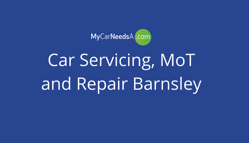 Car Servicing, MoT and Repair Barnsley