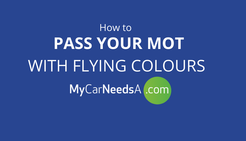 Pass Your MoT test With Flying Colours