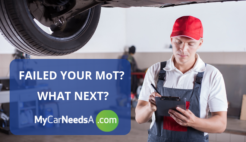 Failed Your MoT - What Next?