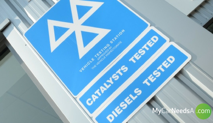 TOP REASONS FOR MOT FAILURE