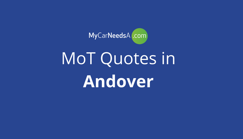 MoT Quotes in Andover