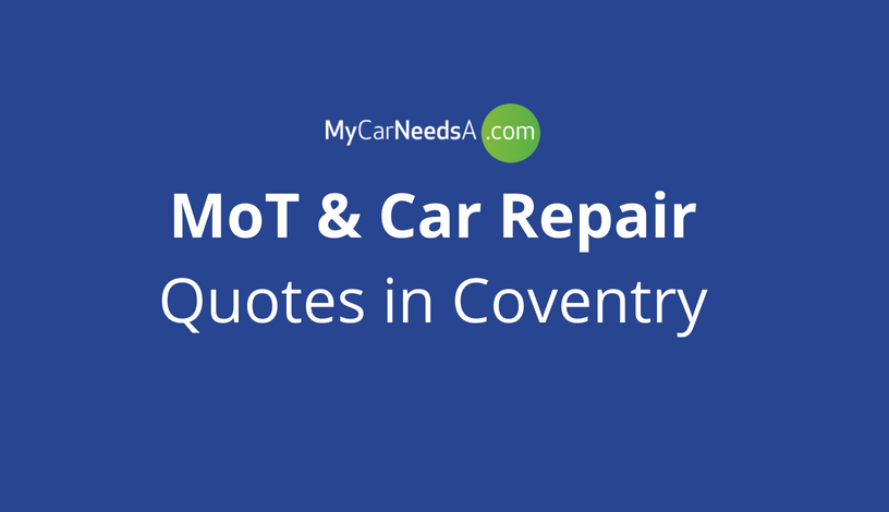 MoT and Car Repair Quotes in Coventry