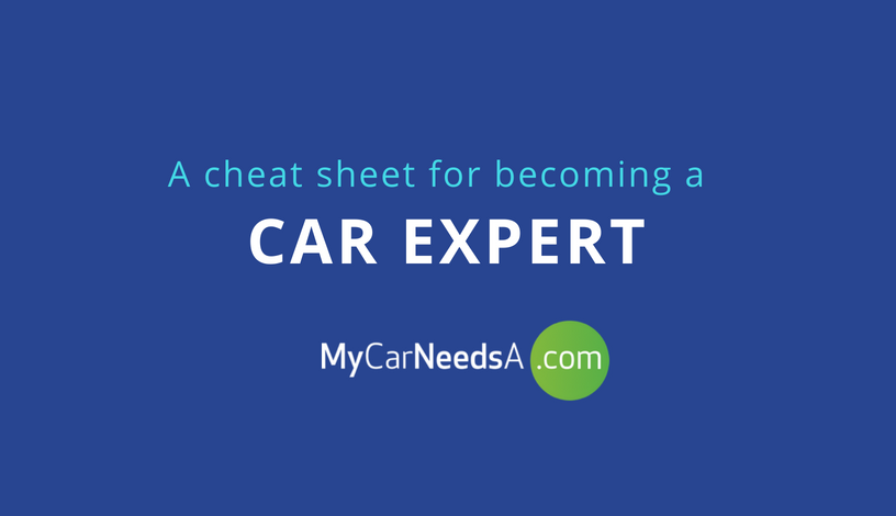 Infographic: Car Terms Explained
