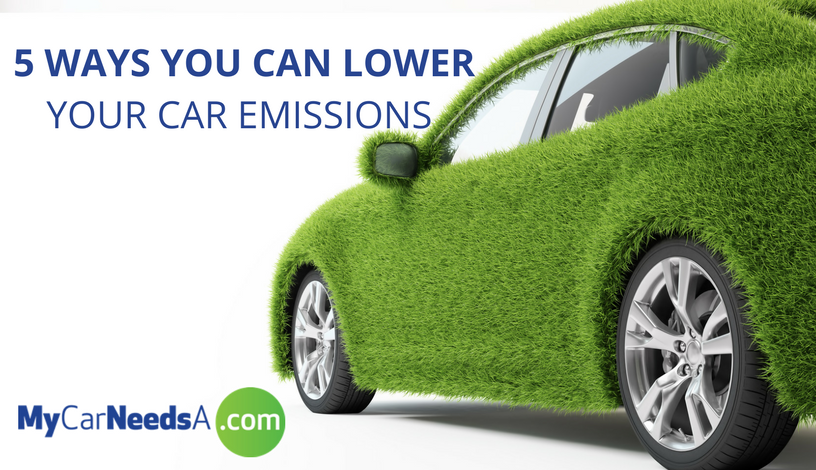 5 Ways You Can Lower Your Car Emissions
