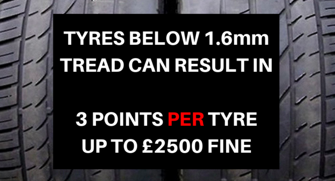 ​1 in 4 Motorists Never Check Their Tyre Tread Depth