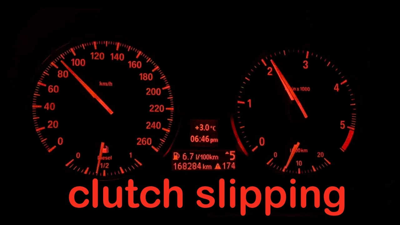 What does it mean when your clutch is slipping?