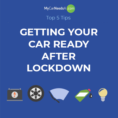 Get your car ready after lockdown