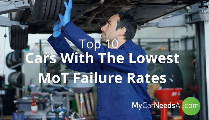 10 Cars With The Lowest MoT Failure Rates