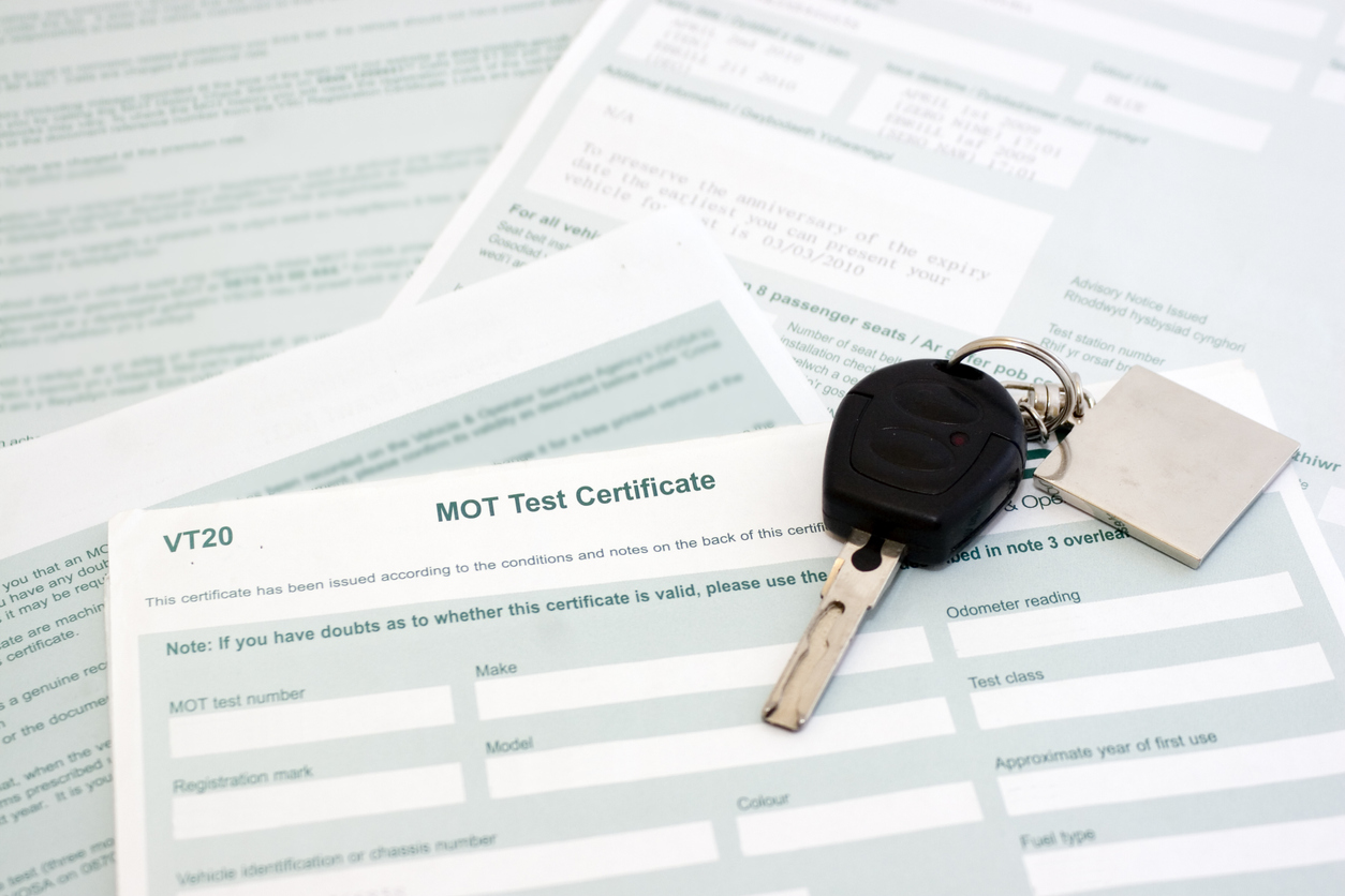 Safety Warnings for Motorists Maximising MOT Exemption