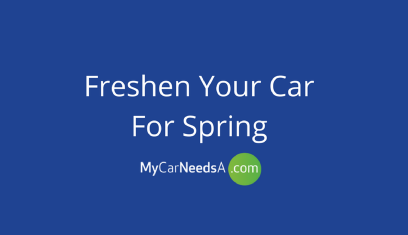 Freshen Your Car For Spring
