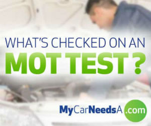 What's checked on an MOT test?