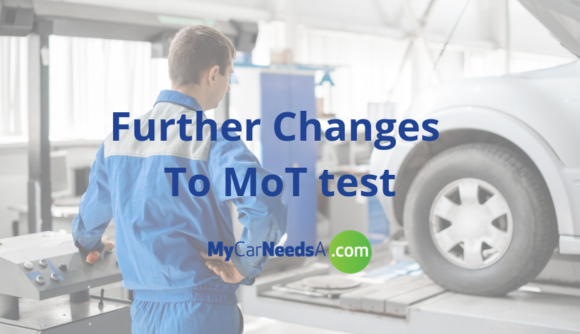 MOT RULES COULD SEE CHANGE IN 2019