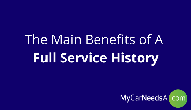 The Benefits of a Full Service Record