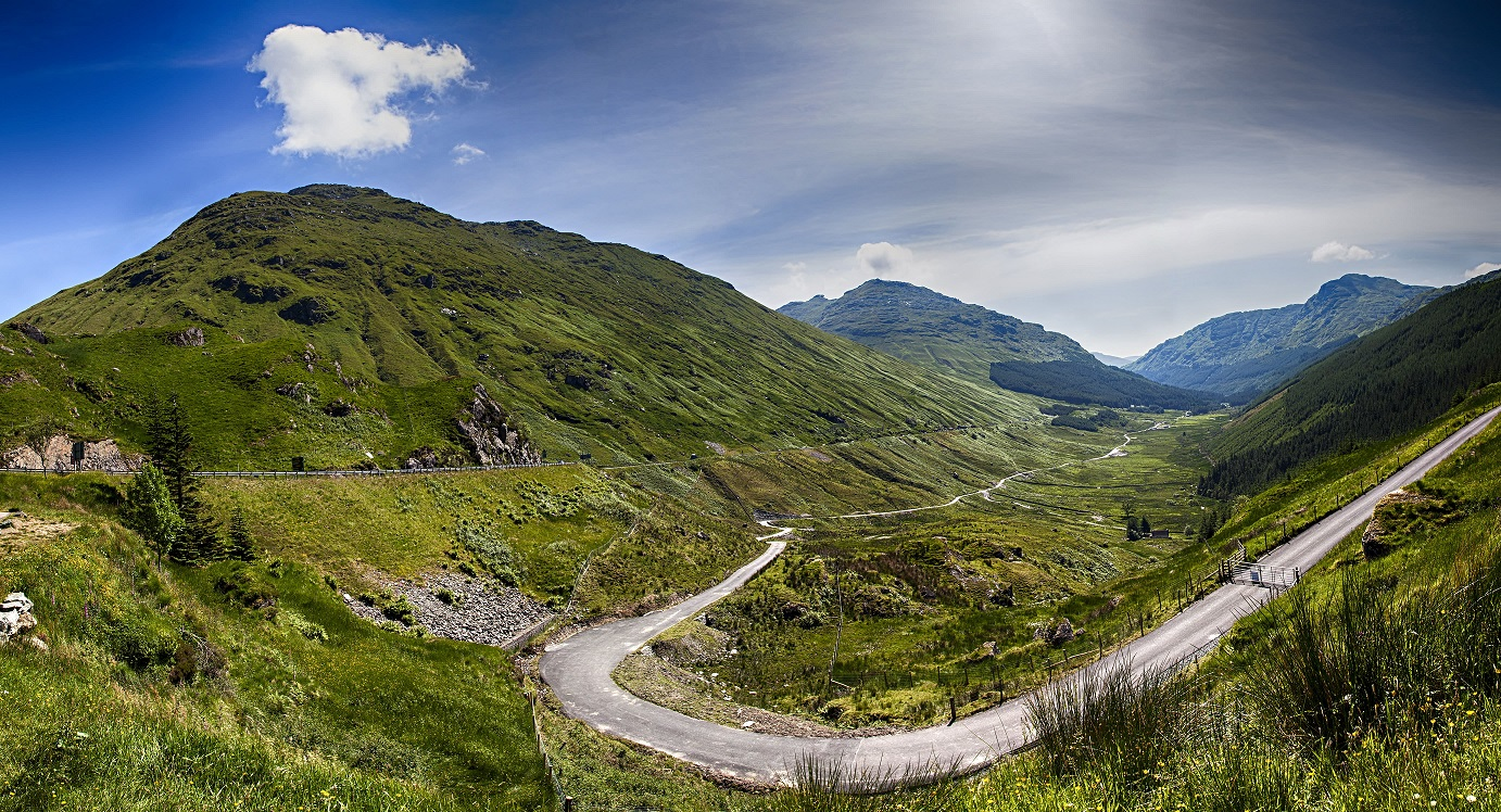 ​Top scenic drives in the UK