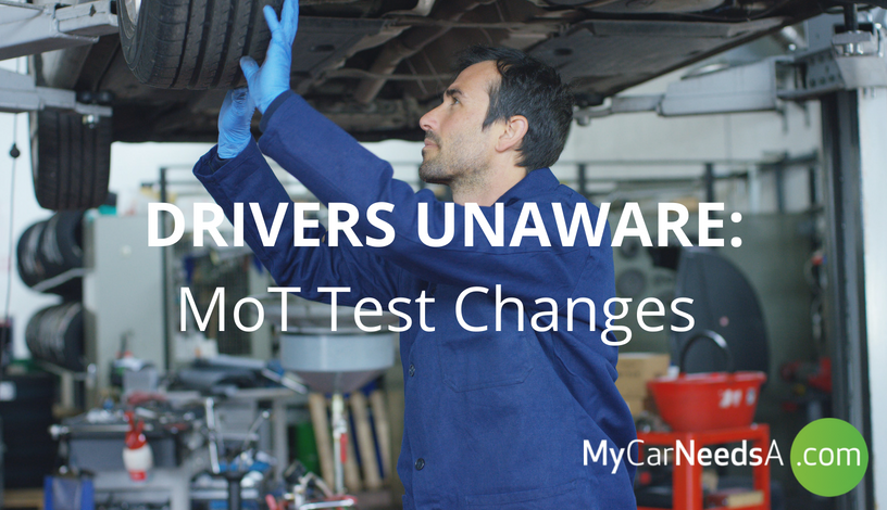 DRIVERS UNAWARE: RESEARCH SHOWS LOW KNOWLEDGE OF NEW MOT TEST