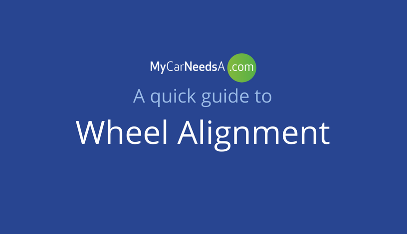 Wheel Alignment Infographic