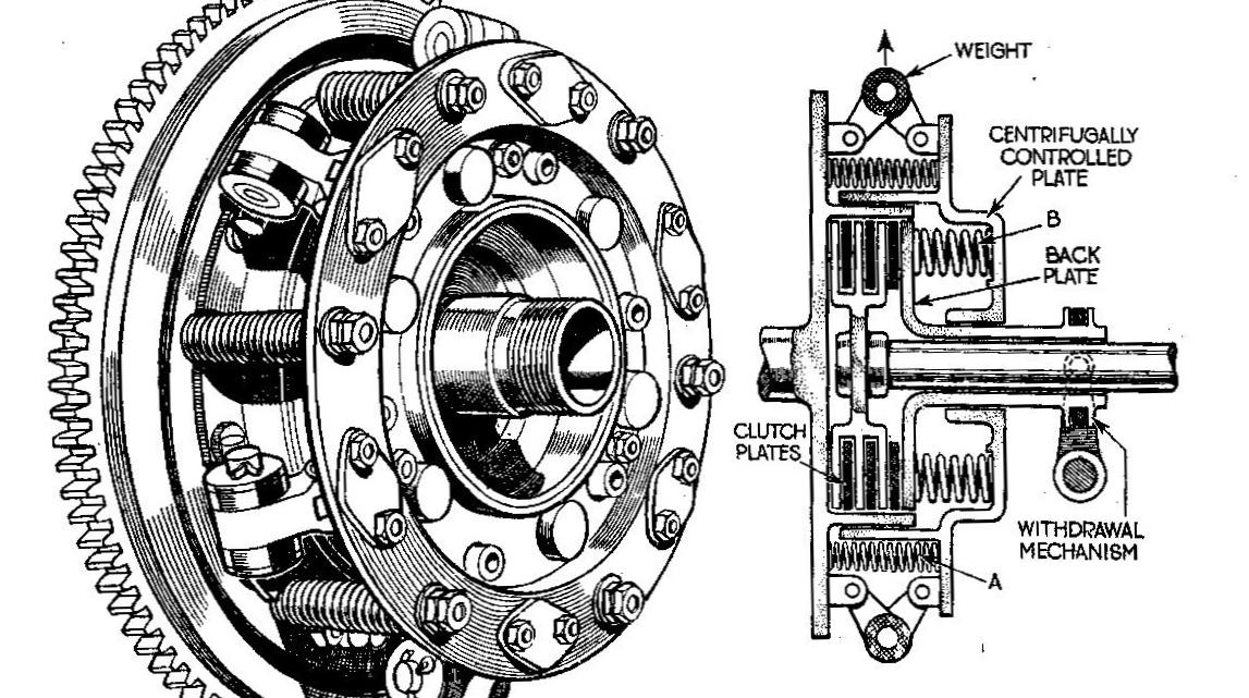Newton_centrifugal_plate_clutch_(Autocar_Handbook_13th_ed_1935).jpg