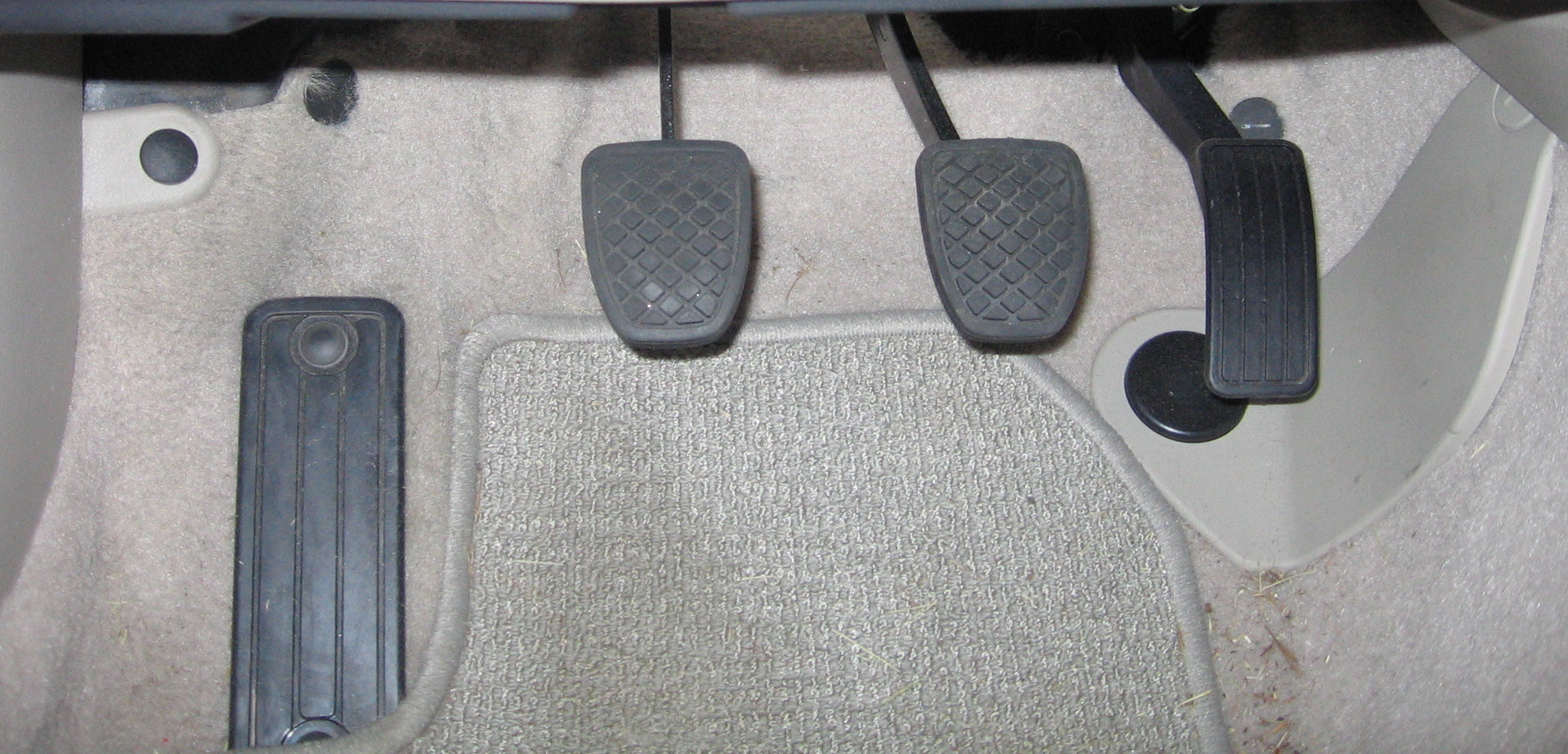 Mistakes with Pedal Clutch