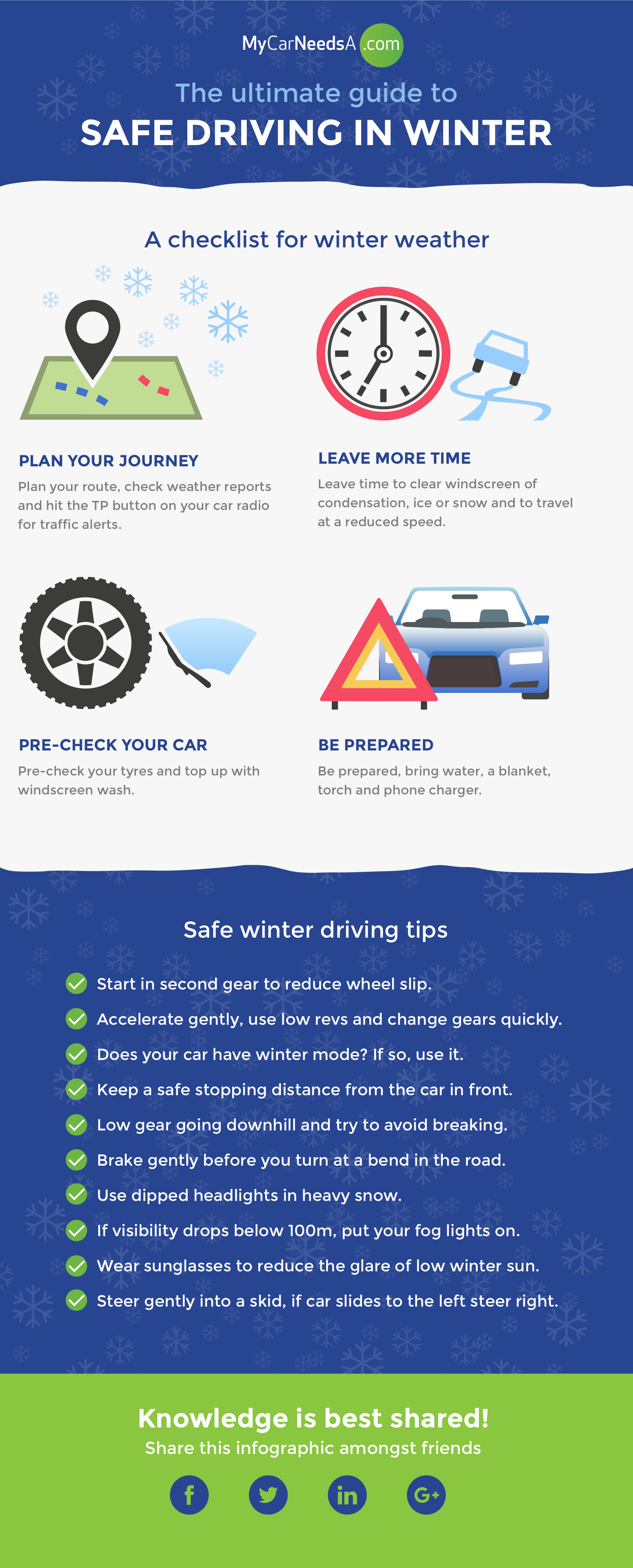 Safe Driving Winter