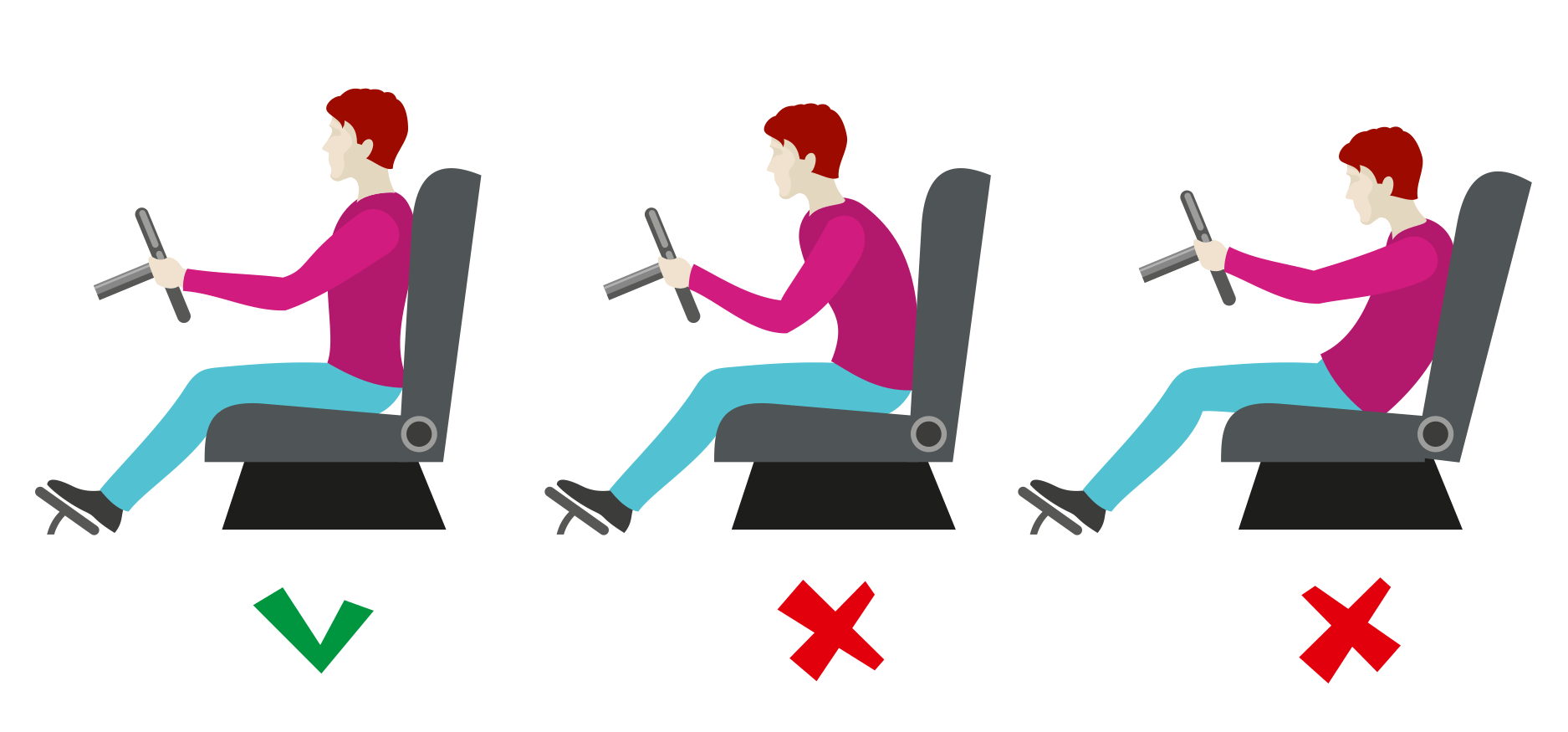 Seating Positions In Car