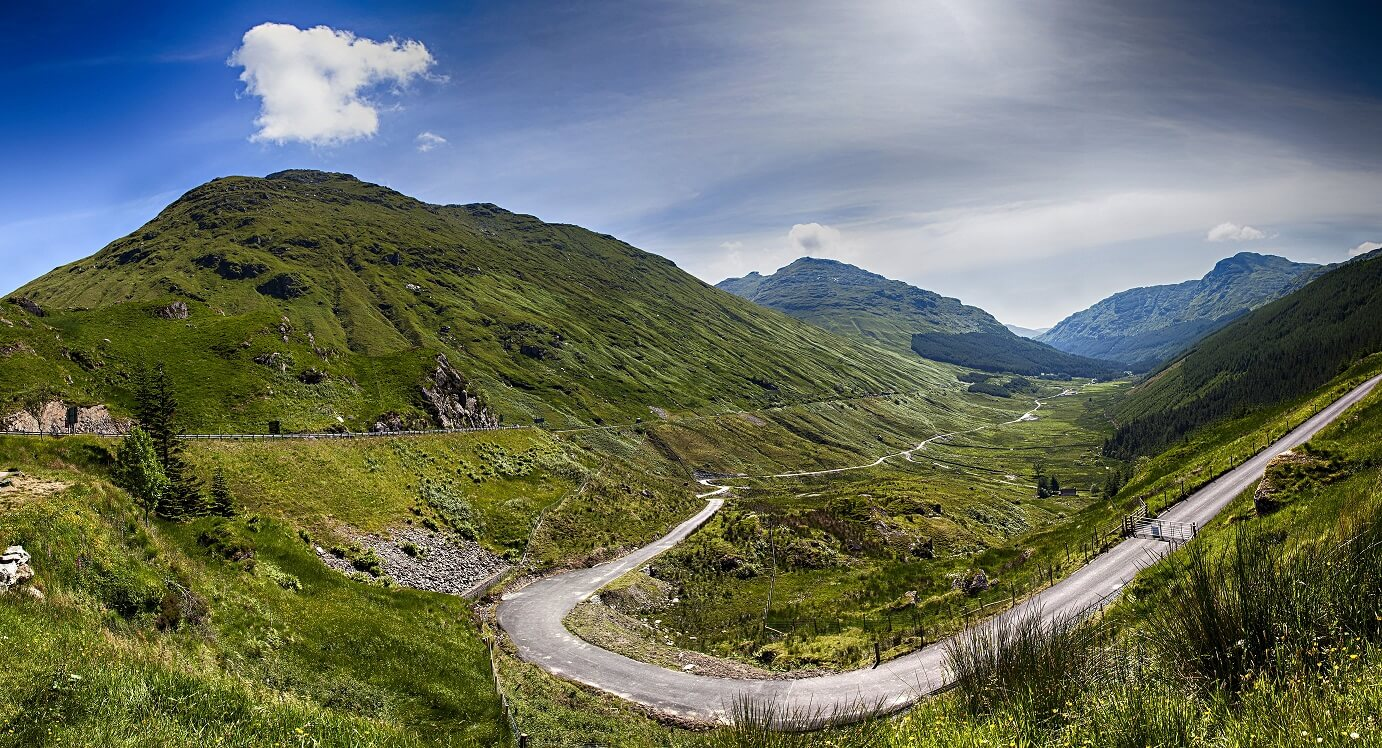 Best Scenic Drives in The UK