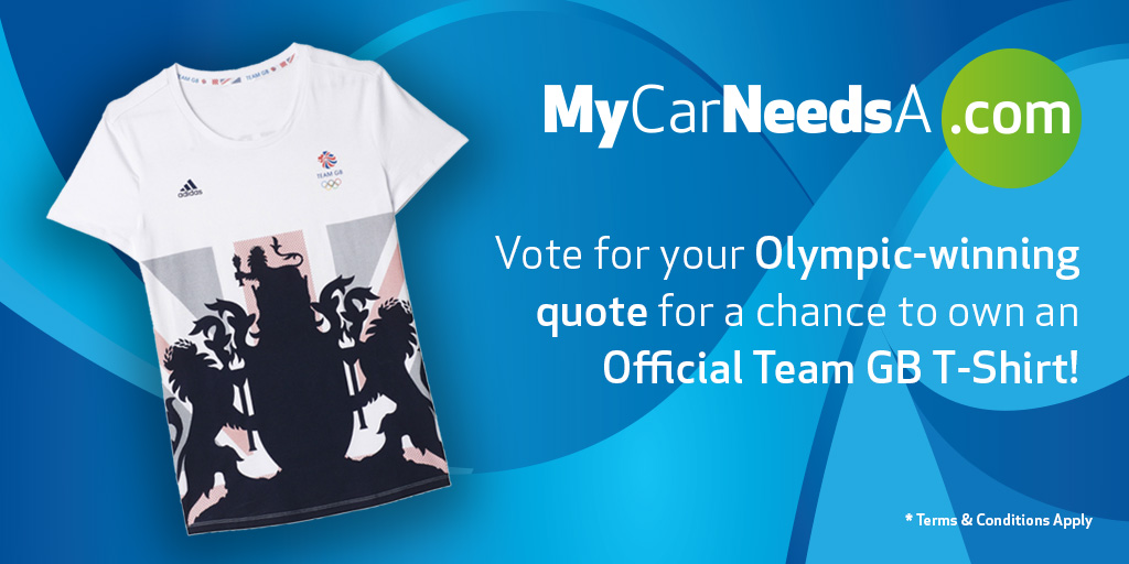 MCNA T-shirt for Team GB